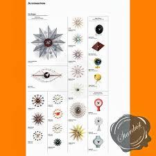 Clock Made Of Clocks Modern Interior Design Stardust Modern George Nelson Clocks