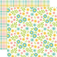 easter wrapping paper echo park happy easter floral paper