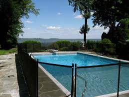 removable swimming pool fence home u0026 gardens geek