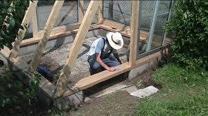 building a greenhouse 4 windows and a door youtube