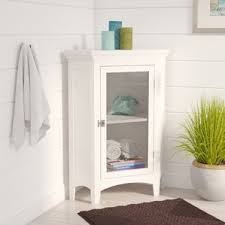 Corner Cabinet For Bathroom Small Corner Cabinet Bathroom Wayfair