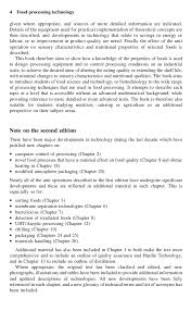 Civil Engineer Resume Sample Pdf by Food Processing Technology By Fellows