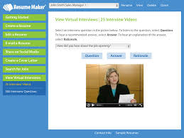Free Resume Creator Software by Write A Better Resume Resume Maker Individual Software