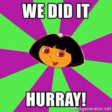 Dora The Explorer Meme - dora the explorer meme we did it mne vse pohuj