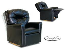 black rocker recliner chair impressive furniture black swivel