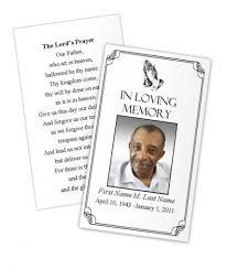 brilliant funeral prayer card template free dy9k4 u2013 dayanayfreddy
