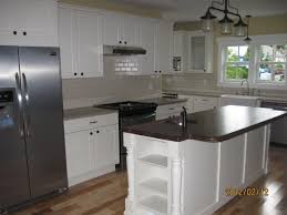 kitchen island corbels painted island posts accentuate beauty in modern kitchen osborne