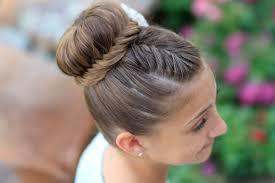 hairstyles using a bun donut donut bun cute girls hairstyles
