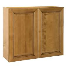 hampton bay cambria assembled 30x42x12 in wall kitchen cabinet in