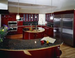Modern Kitchen Design For Small Space 165 Best Red Kitchens Images On Pinterest Kitchen Modern