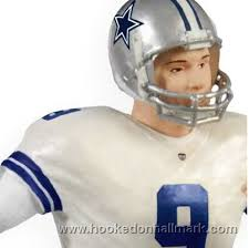 2009 football legends tony romo dallas cowboys hallmark keepsake
