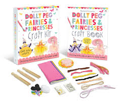 dolly peg fairies and princesses craft kit make and create gift