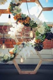Wedding Backdrop Melbourne Rachel Phil Melbourne Rooftop Wedding Floral Pinterest