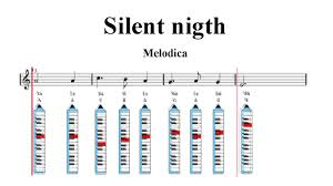 recorder notes tutorial christmas song silent night sheet
