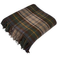 Brown Tartan Rug Pure New Wool Tartan Rugs Buy Online Now Kinloch Anderson