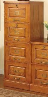 Oak File Cabinets For The Home - oxford file cabinet 4 drawer white home decorators collection