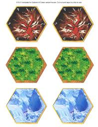 easy template for printing the volcano hex catanmaps com