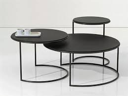 outdoor metal end tables modern oval metal coffee end table set reclaimed task impex india