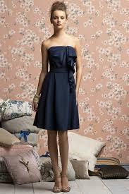 short ruched navy bridesmaid dresses cheap