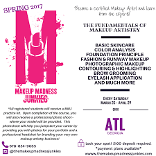 makeup artistry certification the makeup madness junkies