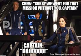 Startrek Meme - michelle yeoh s malaysian accent in star trek discovery brings