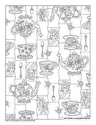 creative haven textile designs coloring book by marjorie sarnat