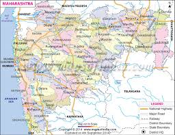 map in maharashtra map state districts information and facts