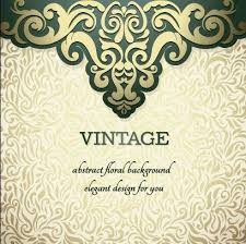 vintage ornate ornaments pattern background free vector in