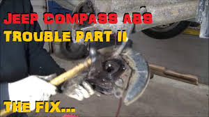 jeep compass back 2016 jeep compass patriot rear bearing replacement youtube