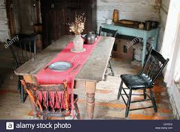 Kitchen Table Setting by Kitchen Table Setting C 1800 Stock Photo Royalty Free Image