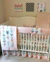 Grey And Green Crib Bedding Interior Chevron Crib Bedding Solpool Info