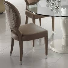 Italian Leather Dining Chairs High End Designer Italian Leather Dining Chair Juliettes Interiors