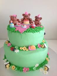 teddy bears picnic cake teddybearspicnic kids birthday and