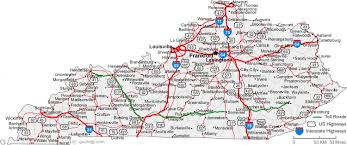 map of ky and surrounding areas map of kentucky cities kentucky road map