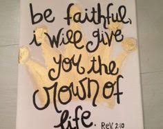 bible verse painted canvas proverbs 3 5 crafty paint