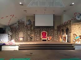 animal castle church stage design ideas