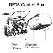 dynamo regulator lucas type rf95 12 volt for vintage u0026 classic cars