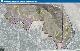 Stars Hollow Map Boise Parks And Rec Asks Public To Name Foothills Trails Again