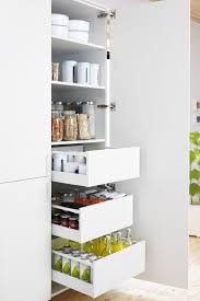 birch wood grey prestige door ikea kitchen storage cabinets