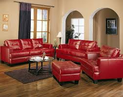 extravagant modern style red sofas living room furniture design