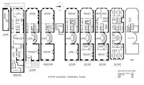 town house floor plans majestic 3 new york townhouse floor plans 17 best images about