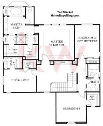 Floor Plans Ranch Homes by Big Sky Simi Valley Walnut Grove Tract Floor Plans