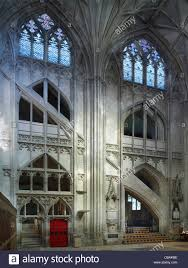 Gloucester Cathedral South Transept Stock Photo Royalty Free