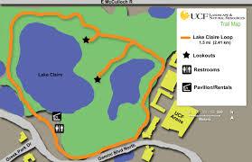 Ucf Campus Map Lake Claire Arboretum
