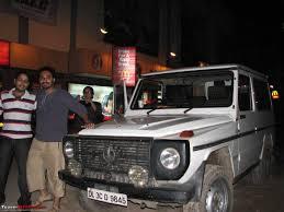 delhi to calicut 3000km in mercedes g wagen team bhp