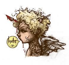 loveless society cupid drawing
