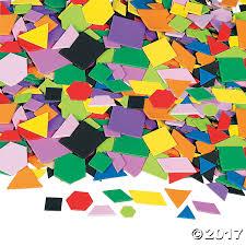 mosaic geometric self adhesive shapes