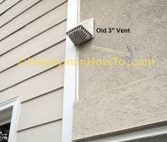 how to replace a bathroom exhaust fan and ductwork old vent duct