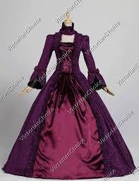 Masquerade Ball Halloween Costumes Renaissance Princess Dress Gothic Masquerade Ball Gown Vampire