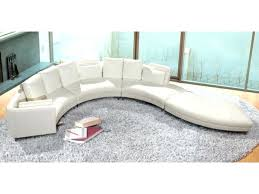 Curved Sectional Sofa Leather Circular Sectional Best Couches Images On Curved